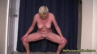Who Says Girls Have To Always Pee In The Toilet - Ms Paris Rose