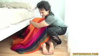 Old Indian Stepmom Fucked By Young Son - Niks Indian