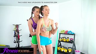 Fitness rooms stacy cruz emylia argan and dominic anna euro