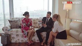 VipSexVault, Busty Asian Teen In POV Swinger Sex #Miyuki Son