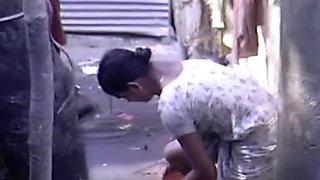 Indian Girls Open Shower