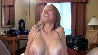 Busty Wife BBC Creampie
