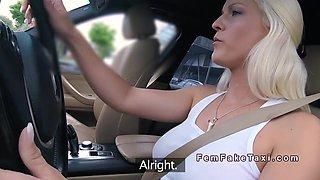 Female Driver Bangs In Her In Public