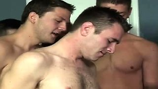 Crying bottom gay porn The BukkakeBoys couldnt wait to jam t