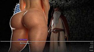MILF Warrior Chubby Milf Exposed Her Big Tits