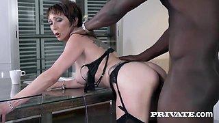 Tight Milf Hot Interracial Porn Video