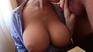Student Hard Fucked Teacher With Big Tits Before Test