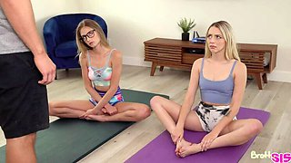Yoga amp  Yummy Dick ft. Kyler Quinn amp  BFF Lily Larimar!