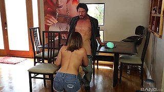 Jean Michaels - Daddy Loves Her Big Tits And Tight P
