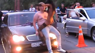 Incredible Amateur video with Public, Reality scenes