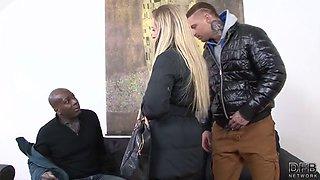 cuckold training interracial anal sex for slutty wife ass