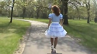 mistress jessica petticoat outdoors 2007