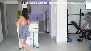 Kathalina777 - I Fuck A Stranger In The Kitchen Whil