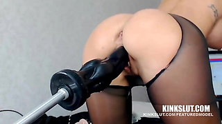 UNREAL!!!! FUCKED BY MACHINE – SQUIRTING ORGASM