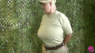 Lacey Starr In Granny Lacey Is Ready To Take Orders