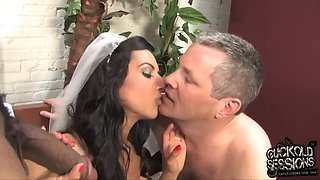 Lou charmelle &amp shane diesel bride bbc cuckold sessions hubbys gift