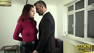 Bound fetish submissive gets fucked and toyed