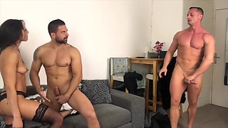 First Double Anal Penetration For Cassie Del Isla