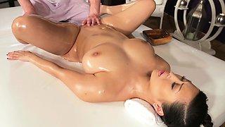 Massage Rooms Big natural tits Asian beauty