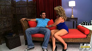 Amber Lynn In Pleased Younger Man With Perfect Shagging