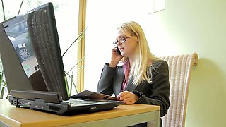 Hedvika is a smart business woman working in real estate