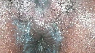 Orgasm wet and creamy with contractions