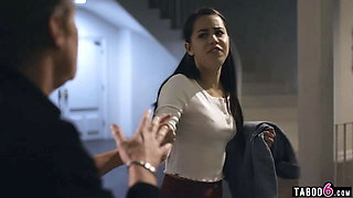 Babysitter teen Alina Lopez makes a generous deal with dad