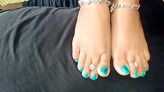 Beautiful Indian Feet Slave
