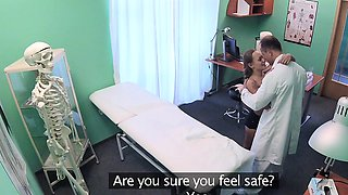 Fake Hospital Good hard sex with patient after earthquake