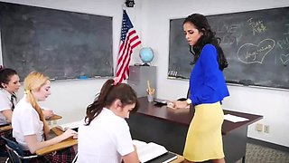 Hardcore gym and brazilian teen booty After School Detention