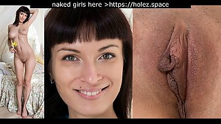 Face and vagina. compilation #4