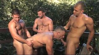 Brandon L, Sean Stavos, Bruno Bond and Morgan Black (ATT P5)