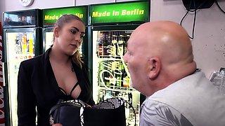 OLD GUY EGON SEDUCE GERMAN CURVY TEEN MIA BLOW TO ROUGH FUCK