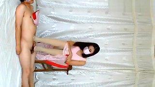 CHINESE FOOTJOB学姐高跟鞋肉丝踩足交Ⅱ