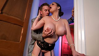 Jane Doe Private Dick Free Video With Cathy Heaven & Danny D - Brazzers