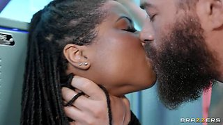 BRAZZERS: Hot And Heavy Kira Noir on PornHD