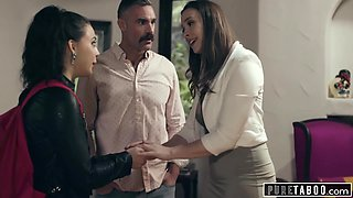 Chanel Preston, Charles Dera And Whitney Wright - Cheating Husbands Mistress Shows Up At His House