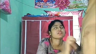 Desi girl – Blowjob and sex with boyfriend
