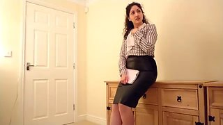 SexyJill Secretary Abused