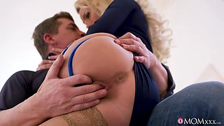 Sexy Tart Isabelle Deltore Is Fucked Hard With Her Panties On