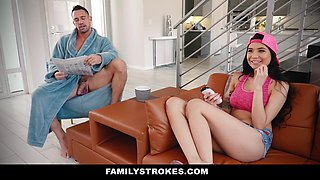 Brenna Sparks In Family Shares A Bed