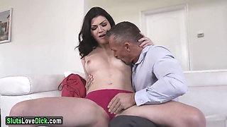Naughty Housewife Fucks Her Husband's Boss