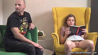 Casual Teen Sex - Lana Broks - Fucks a cute teen reader