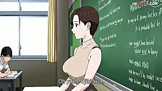 Teacher fucking student hentai