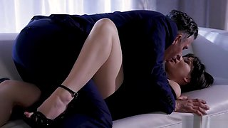 Glamour Babe Alison Rey Gets Fucked Hard On The Couch