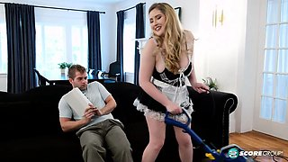Hired a professional maid service