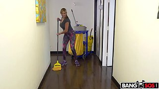 Fucking is more fun than cleaning