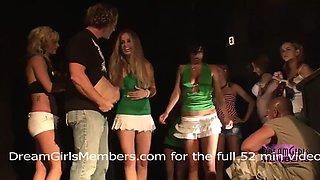 Twerking contest goes crazy when girls get naked