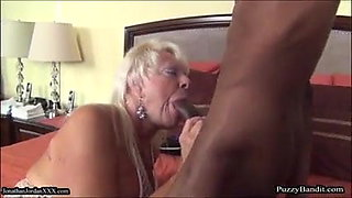 72 year old Grandma Craves Big Black Cock
