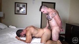 hot beefy guys  having fun
